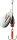 Cormoran Bullet mit Fischdesign Gr.2 Silver Perch 4,0g