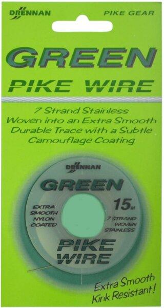 Drennan 1x7 Green Pike Wire 15m