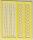 Boiliestopper de Luxe ca.140 Stück gelb