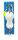 Aquantic Flatfish Spoon Rig 80g LU 1,10m Gr. 1/0 0,50/0,40mm