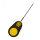 Braided Hair Needle 7cm yellow handle