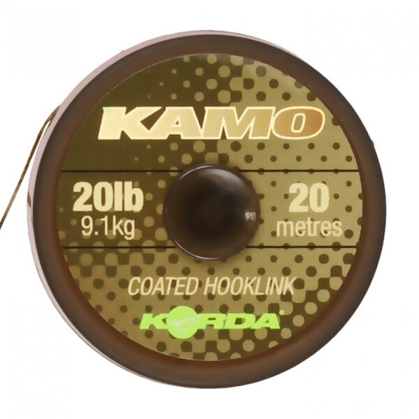 Kamo coated Hooklink  30lb - 20m
