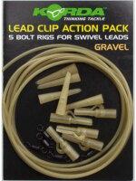 Lead Clip Action Pack Gravel