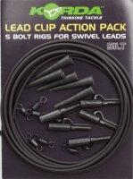 Lead Clip Action Pack Silt