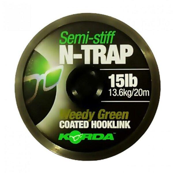 N-TRAP Semi -Stiff  Green, 20lb - 20m
