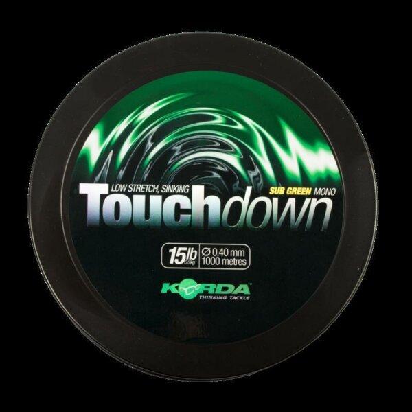 Touchdown  Green 20lb / 0.43mm 1000m
