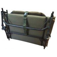 Zfish Shadow Camo Bedchair mit dicke Polsterung