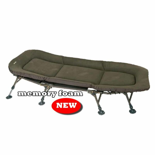Marshal Memory Foam Flat Bed, 200x80x37cm