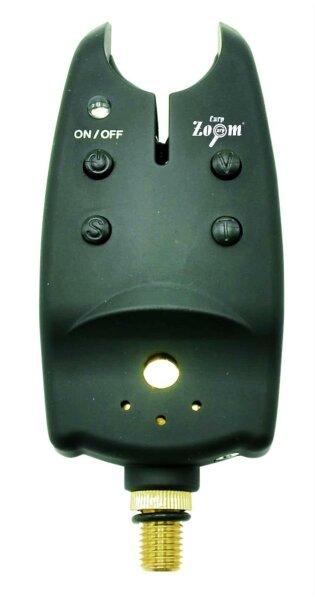 Bite Alarm MRX Ton, Lautstärke und Sensibilität