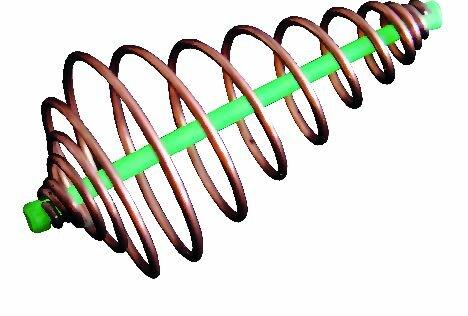 Spiral Feeding Basket w. Winged Lead 60 g