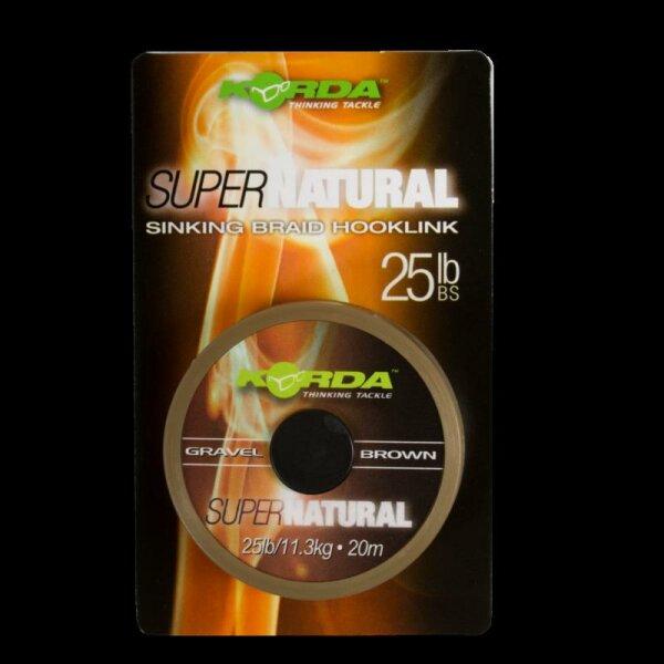 Super Natural - Gravel Brown 18lb - 20m