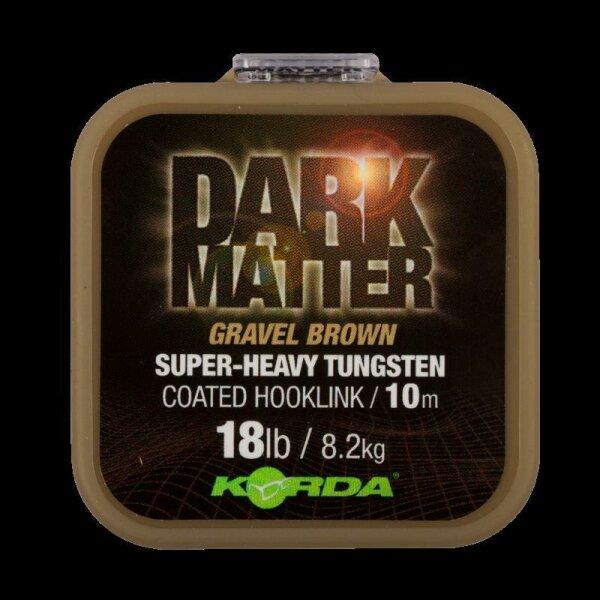 Dark Matter Tungsten Coated Braid Gravel Brown 25 lb 10 m