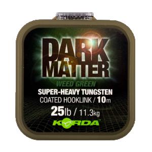 Dark Matter Tungsten Coated Braid Weed Green 25 lb 10 m