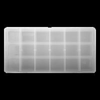 LURE BOX -2 BOXES INC. NO.6 23X11X3.5CM