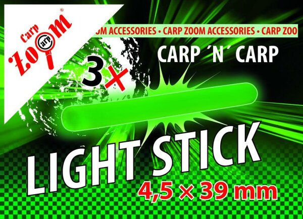 Carp Zoom Knicklicht  4,5x39mm, 3Stück, + 3 Adapter